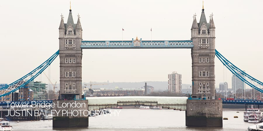 Tower Bridge London, Justin Bailey Photography