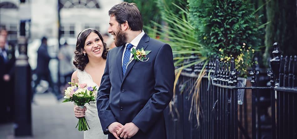 Wedding Photographer London : Marylebone Town Hall : Maria and Rob