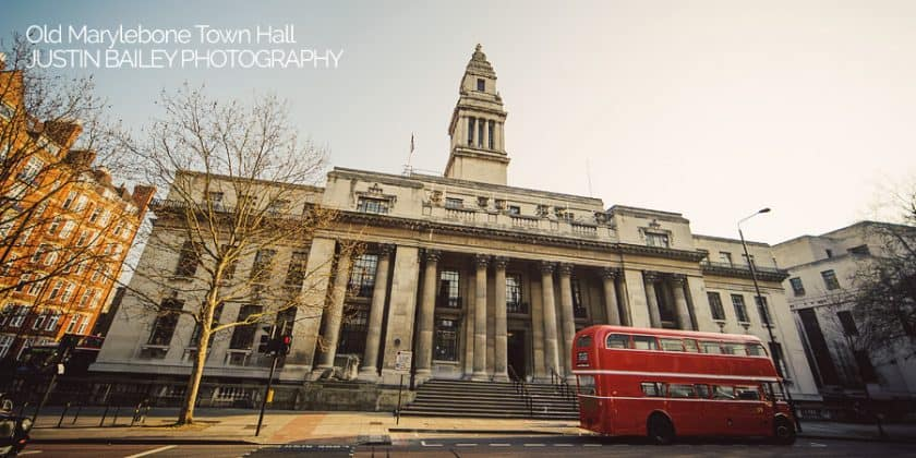 Old Marylebone Town Hall Wedding Photographer, Justin Bailey Photography