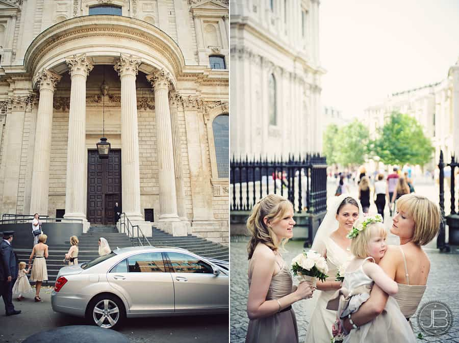 Wedding Photographer London St. Paul's OBE Chapel Justin Bailey Photography EN 3