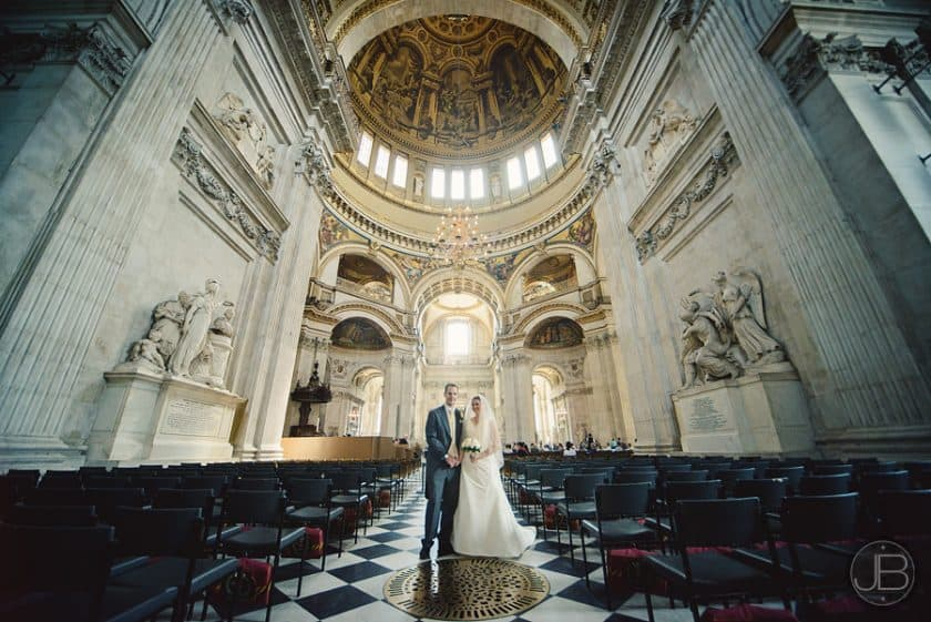 , Wedding Photography London : St. Paul's OBE Chapel : Eleanor and Nick