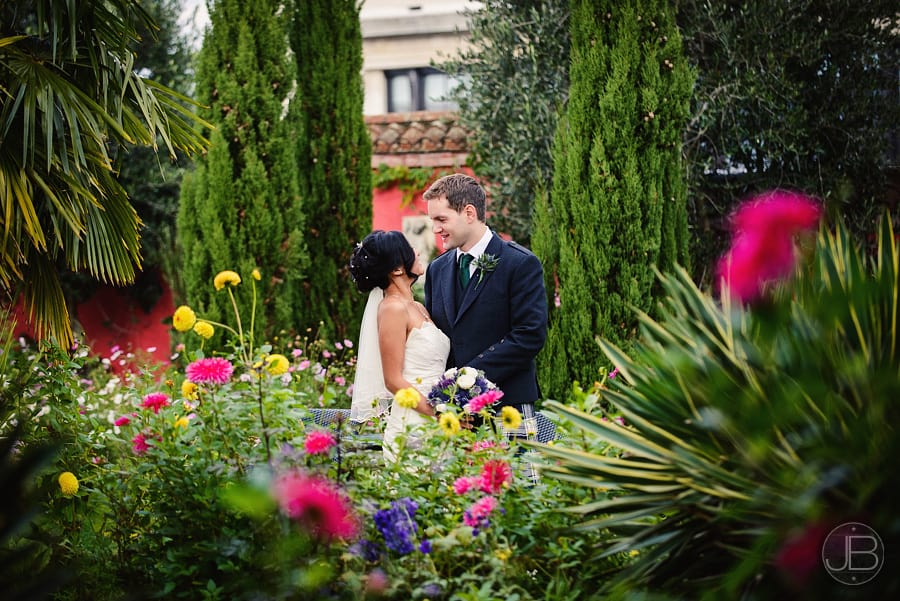 Wedding Photography Kensington Rooftop Gardens : Louise and John