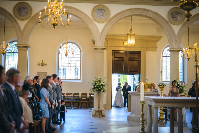 Brentwood Cathedral and Gaynes Park Wedding 010