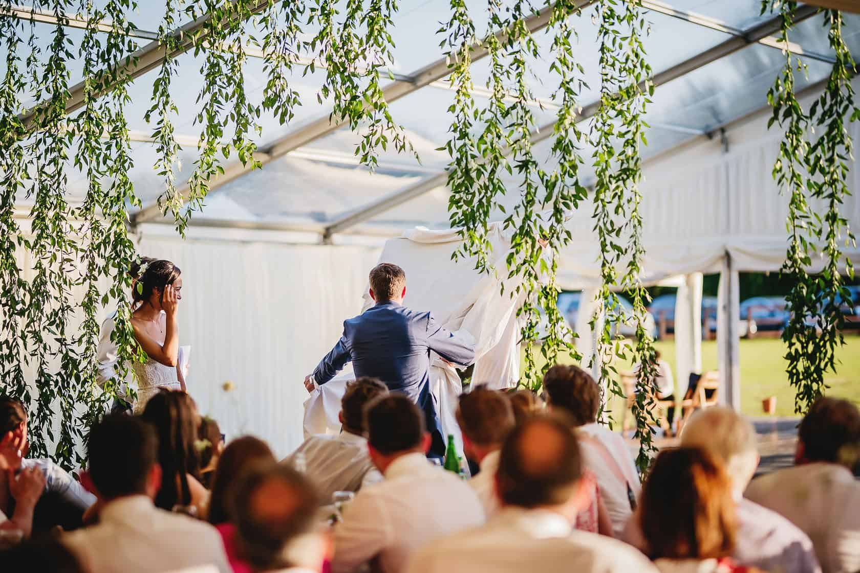 , Garden Marquee Wedding Roxwell : Jennifer + Thomas
