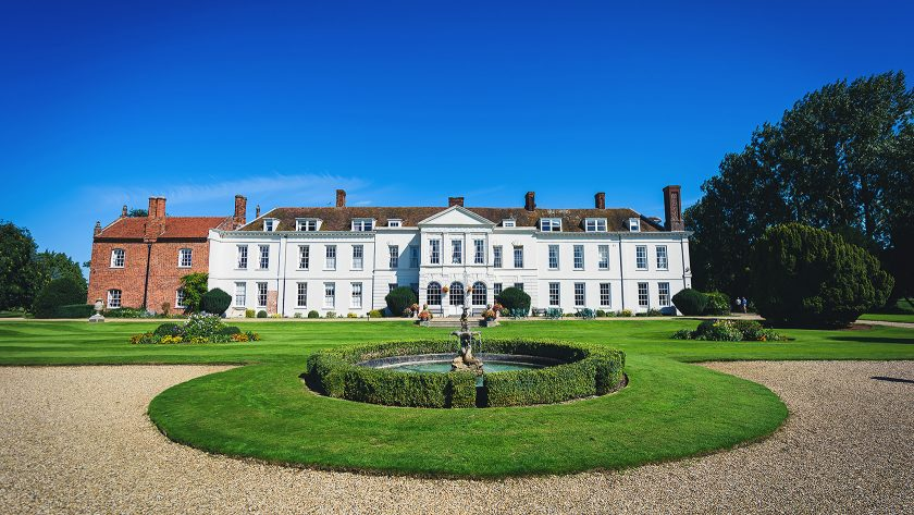 Gosfield Hall Main Building Summer